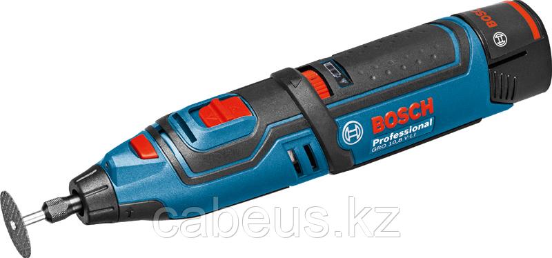 Шлифмашина прямая аккумуляторная BOSCH GRO 12V-35 LI [06019C5001] Кейс L-Boxx