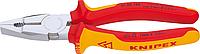 Плоскогубцы диэлектрические KNIPEX 0106160 1000 V, 160 мм, комбинированные [KN-0106160]