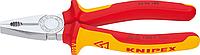 Плоскогубцы диэлектрические KNIPEX 0306200 1000 V, 200 мм, комбинированные [KN-0306200]