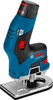 Фрезер аккумуляторный BOSCH GKF 12V-8 [06016B0000] 2х3,0Ач, кейс L-Boxx