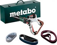 Шлифмашина ленточная сетевая METABO RBE 15-180 Set [602243500]