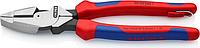 Плоскогубцы со страховочным креплением KNIPEX 0902240T 240 мм [KN-0902240T]