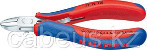 Бокорезы диагональные для электроники KNIPEX 7712115 115 мм [KN-7712115]