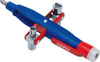 Ключ для электрошкафов KNIPEX 001117 с индикатором напряжения [KN-001117]