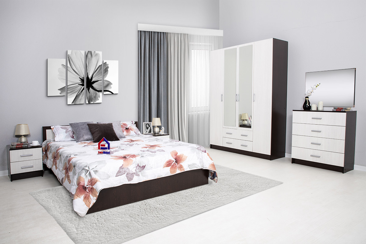 Комплект мебели для спальни Гармония, Анкор Анкор светлый, Стендмебель(Россия)