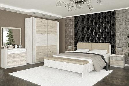 Комплект мебели для спальни Ким, Карпатия выбеленый, MEBEL SERVICE(Украина), фото 2