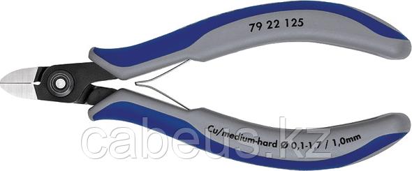 Бокорезы для электроники прецизионные KNIPEX 7922125 125 мм [KN-7922125]