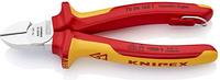 Бокорезы диэлектрические KNIPEX 7006160Т 1000 V, 160 мм, диагональные [KN-7006160T]