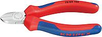 Бокорезы диагональные для пластмассы KNIPEX 7202125 125 мм [KN-7202125]