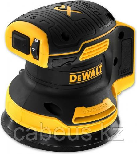 Виброшлифмашина эксцентриковая аккумуляторная DeWALT DCW 210 N бесщеточная, без АКБ и ЗУ [DCW210N-XJ]
