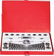 Набор резьбонарезных инструментов MATRIX метчиков и плашек м3-м16 , 36 предм.// [77339]
