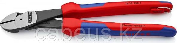 Бокорезы диагональные силовые KNIPEX 7422250T 250 мм со страховочным креплением [KN-7422250T]