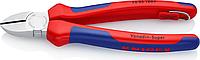 Бокорезы диагональные KNIPEX 7005180T 180 мм со страховочным креплением [KN-7005180T]