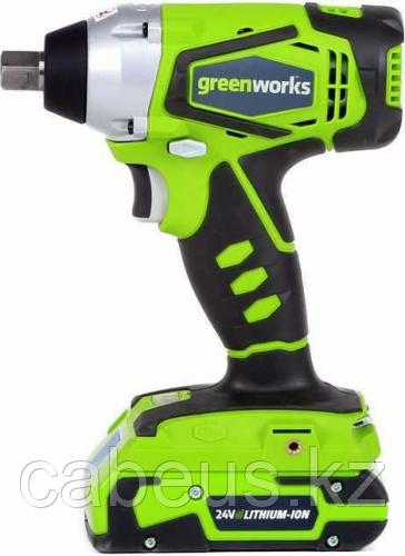 Гайковерт ударный аккумуляторный GREENWORKS G24IW без АКБ и ЗУ (3801207) [3801207]