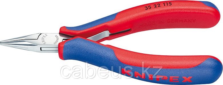 Круглогубцы прецизионные KNIPEX 3522115 115 мм [KN-3522115]