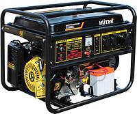 Электростанция бензиновая HUTER DY 8000 LX-3 электростартер [64/1/28]