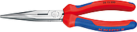 Круглогубцы с плоскими губками и режущими кромками KNIPEX 2612200 200 мм [KN-2612200]