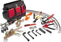 Набор инструментов для монтажа провода СИП КВТ НИС-3 18 предметов [74295]
