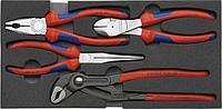 Набор инструментов в лотке KNIPEX 002001V01 4 предмета [KN-002001v01]