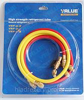 Комплект заправочных шлангов VRP-U-RYB, (1,5m) R410