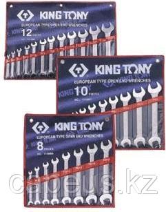 Набор ключей рожковых KING TONY 1112MR 12 предметов [1112MR]