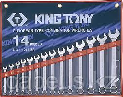 Набор ключей комбинированных KING TONY 1214MR 14 предметов [1214MR]