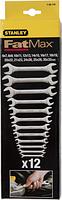 Набор ключей рожковых STANLEY 1-95-770 12 предметов [1-95-770]