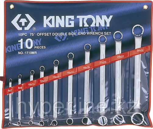 Набор ключей накидных KING TONY 10 предметов 1710MR [1710MR]