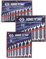 Набор ключей рожковых KING TONY 1110MR 10 предметов [1110MR]