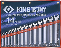 Набор ключей комбинированных KING TONY 1215MR01 14 предметов [1215MR01]