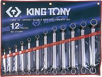 Набор ключей накидных KING TONY 12 предметов 1712MR [1712MR]