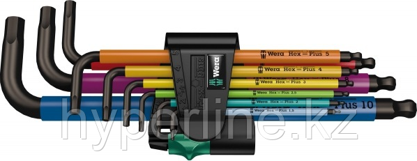 Набор шестигранников WERA 950 SPKL/9 SM N Multicolour 9 предметов WE-073593 [WE-073593]