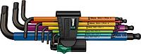 Набор шестигранников WERA 950 SPKL/9 SM N Multicolour 9 предметов WE-073593 [WE-073593], фото 1