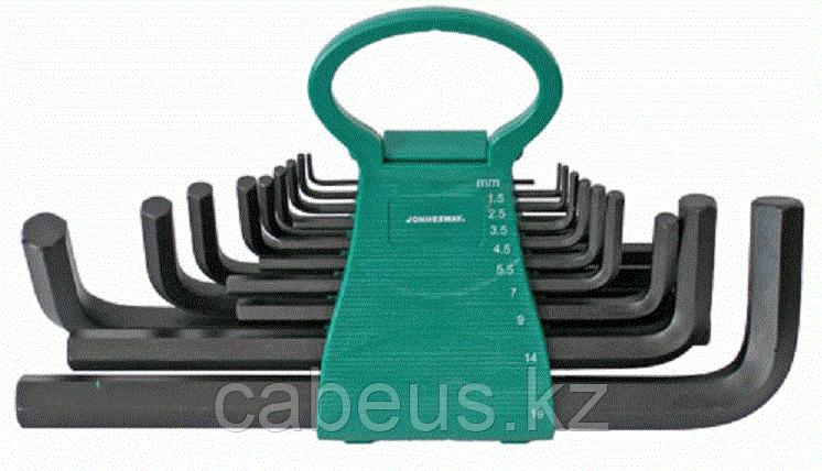 Набор ключей шестигранных JONNESWAY H01MH118S 1,5-19мм, 18 предметов [048732]