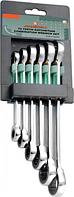 Набор накидных трещоточных ключей JONNESWAY W68106S 8-19 мм, 6 предметов [048894]