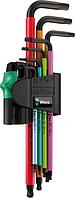 Набор шестигранников WERA 950 SPKL/7B SM Multicolour Magnet 7 предметов WE-022534 [WE-022534]