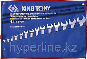 Набор ключей комбинированных KING TONY 1214MRN01 14 предметов [1214MRN01]