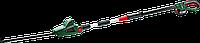 Ножницы-кусторез аккумуляторные BOSCH UniversalHedgePole 18 (2,1 - 2,6 м) [06008B3000] Акб 18V / 2.5Ah