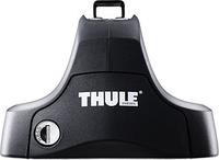 Упоры THULE 754 для автомобилей с гладкой крышей (с замками) [754], фото 1