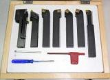 Набор из 7 резцов с креплением пластин JET JE59500020 16х16 мм [JE59500020]