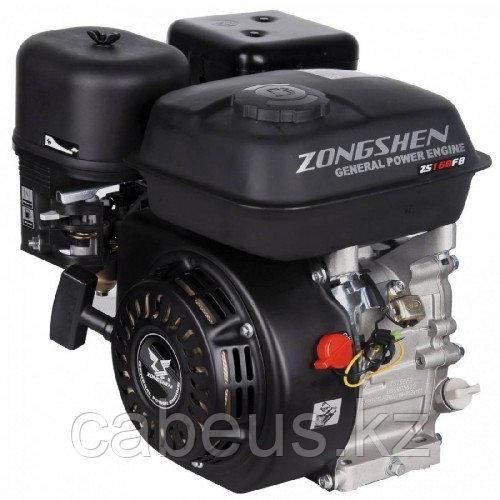 Бензиновый двигатель ZONGSHEN 168 FB4 6,5 л.с. (вал 22 мм, редуктор, сцепление) [1T90QQ164]