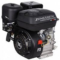 Бензиновый двигатель ZONGSHEN 168 FB4 6,5 л.с. (вал 22 мм, редуктор, сцепление) [1T90QQ164], фото 1
