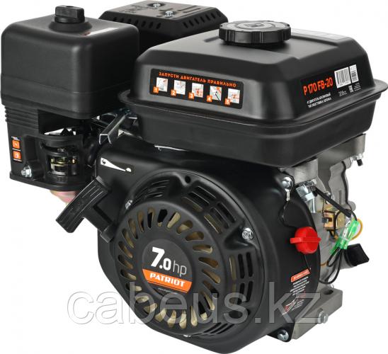 Бензиновый двигатель PATRIOT P170 FB-20 7,0 л.с [470108170]