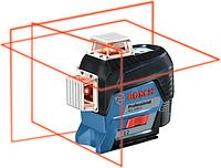 Лазерный уровень BOSCH GLL 3-80 C [0601063R00] 4х1,5В LR6 AA, отражатель
