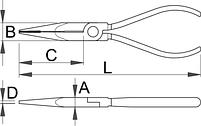 Плоскогубцы комбинированные - 506/4P UNIOR, фото 2