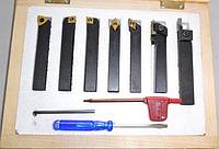 Набор 7 резцов JET JE50000953 8 х10 мм со сменными пластинами [50000953]