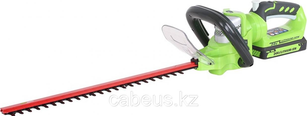 Ножницы-кусторез аккумуляторные GREENWORKS G24HT57 без АКБ и ЗУ (2200107) [2200107] - фото 1