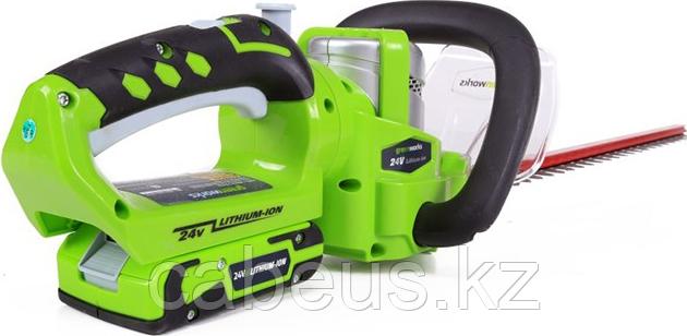 Ножницы-кусторез аккумуляторные GREENWORKS G24HT57 без АКБ и ЗУ (2200107) [2200107] - фото 2