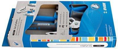 Набор шарнирно-губцевого инструмента в картонной упаковке - 402A UNIOR