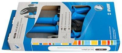 Набор шарнирно-губцевого инструмента в картонной упаковке - 402B UNIOR